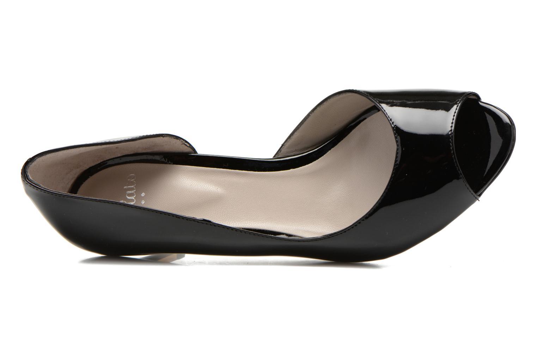High heels Perlato Bilbao Black view from the left