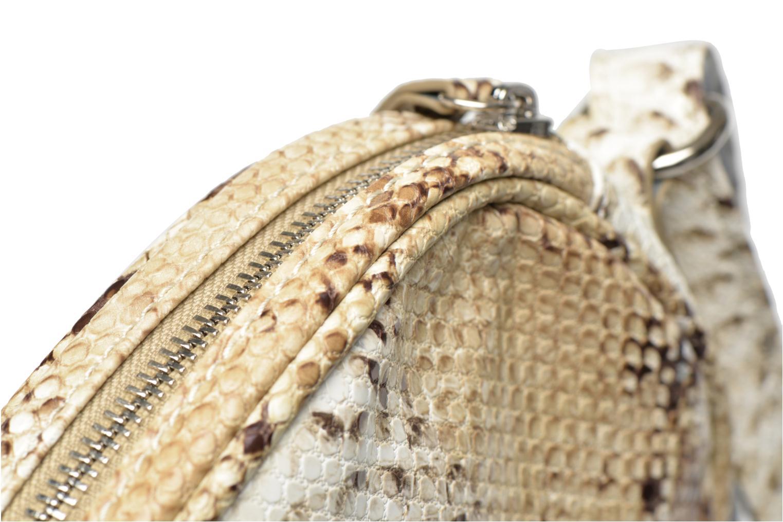Sacs à main Paquetage Micro Sac Serpent Beige vue gauche