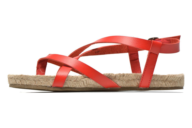 Sandales et nu-pieds Blowfish Granola Rope Rouge vue face