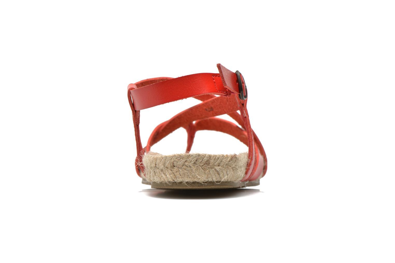 Sandales et nu-pieds Blowfish Granola Rope Rouge vue droite