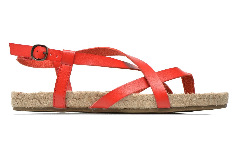 Sandales et nu-pieds Blowfish Granola Rope Rouge vue derrière