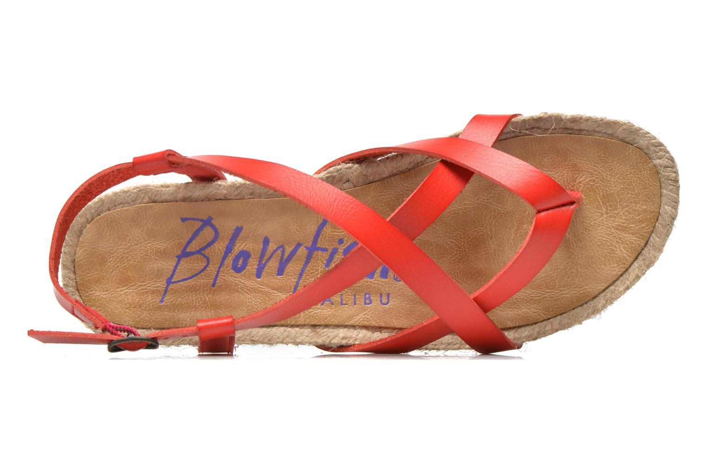 Sandales et nu-pieds Blowfish Granola Rope Rouge vue gauche