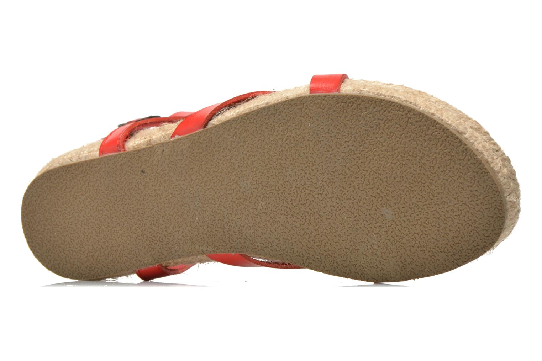 Sandales et nu-pieds Blowfish Granola Rope Rouge vue haut