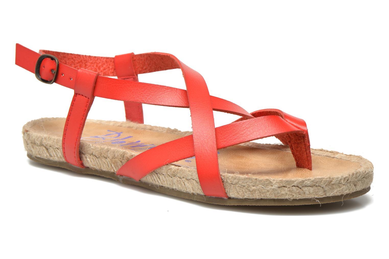 Sandales et nu-pieds Blowfish Granola Rope Rouge vue détail/paire