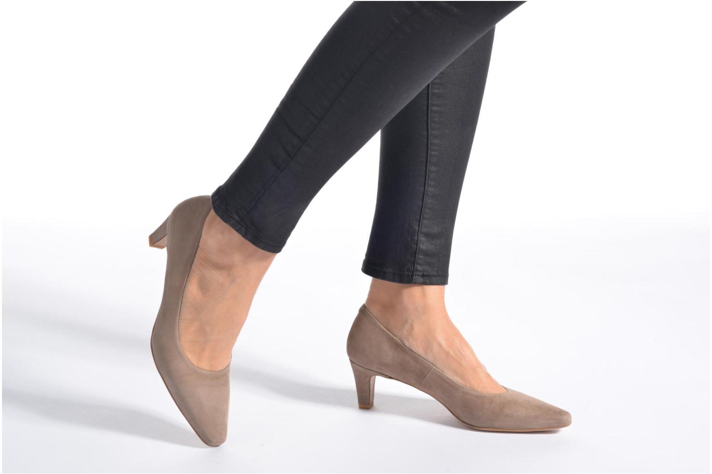 Zapatos de tacón Perlato Lailana Negro vista de abajo