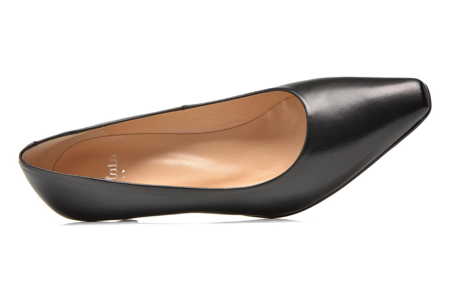 High heels Perlato Lailana Black view from the left