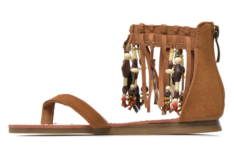 Sandales et nu-pieds Les Tropéziennes par M Belarbi Gopak E Marron vue face