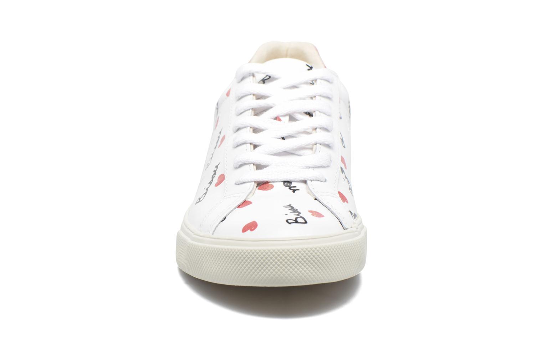Baskets Veja Esplar Low Blanc vue portées chaussures