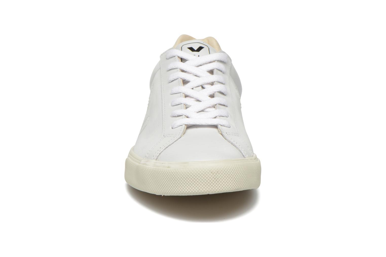 Baskets Veja Esplar Leather Blanc vue portées chaussures