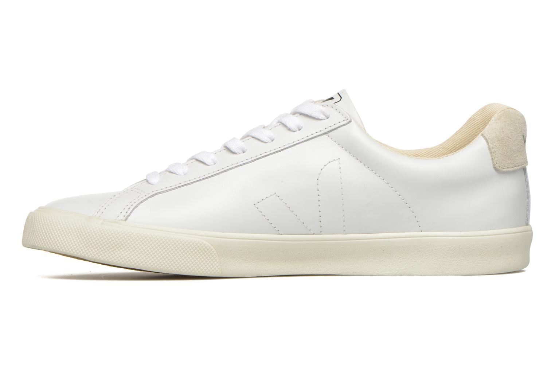 Deportivas Veja Esplar Leather Blanco vista de frente