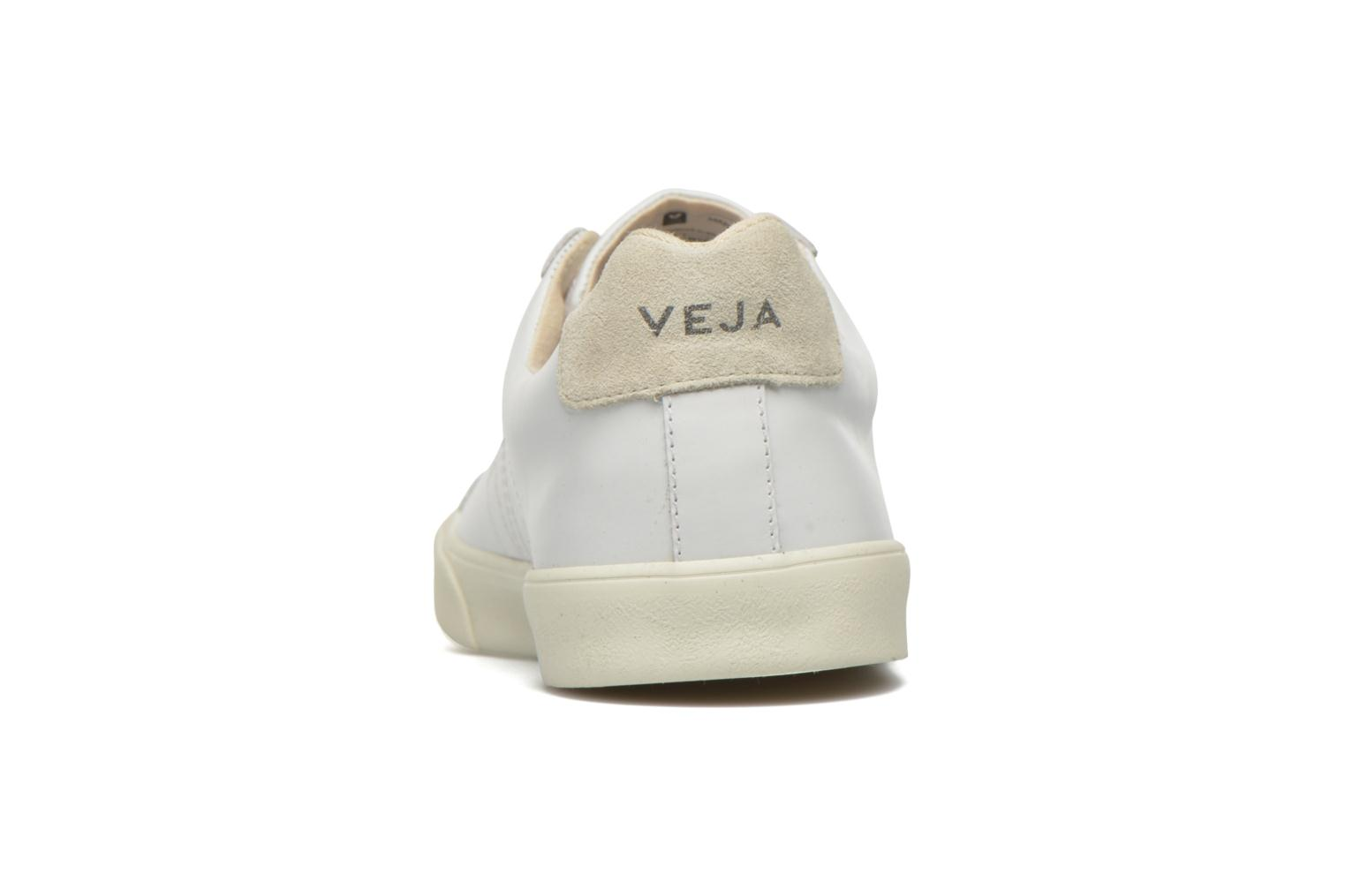 Deportivas Veja Esplar Leather Blanco vista lateral derecha