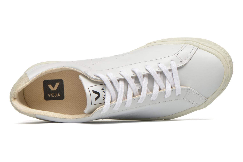 Baskets Veja Esplar Leather Blanc vue gauche