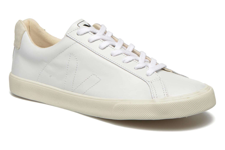 Baskets Veja Esplar Leather Blanc vue détail/paire
