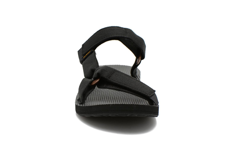Sandalias Teva Universal Slide Negro vista del modelo