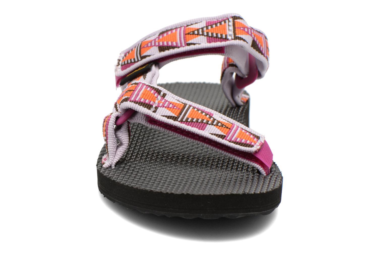 Mules et sabots Teva Universal Slide W Multicolore vue portées chaussures