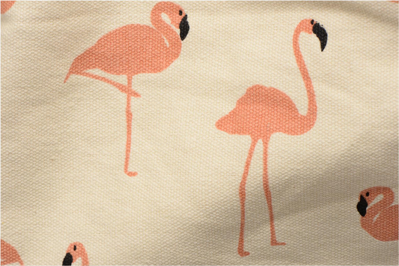 Chloé Flamant Cabas textile Cuivre