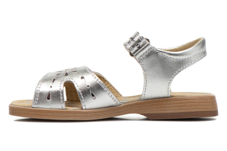 Sandales et nu-pieds Start Rite Honey Suckle Argent vue face