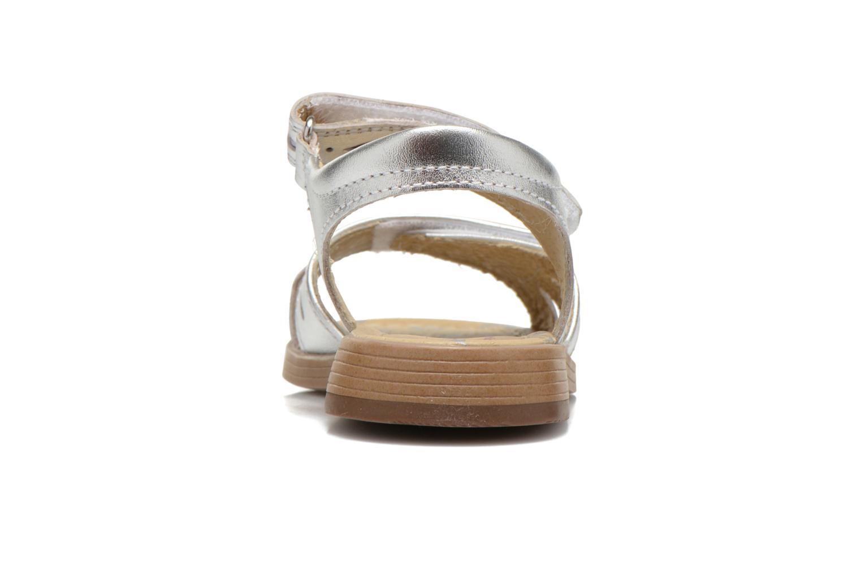 Sandales et nu-pieds Start Rite Honey Suckle Argent vue droite