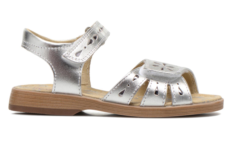 Sandales et nu-pieds Start Rite Honey Suckle Argent vue derrière