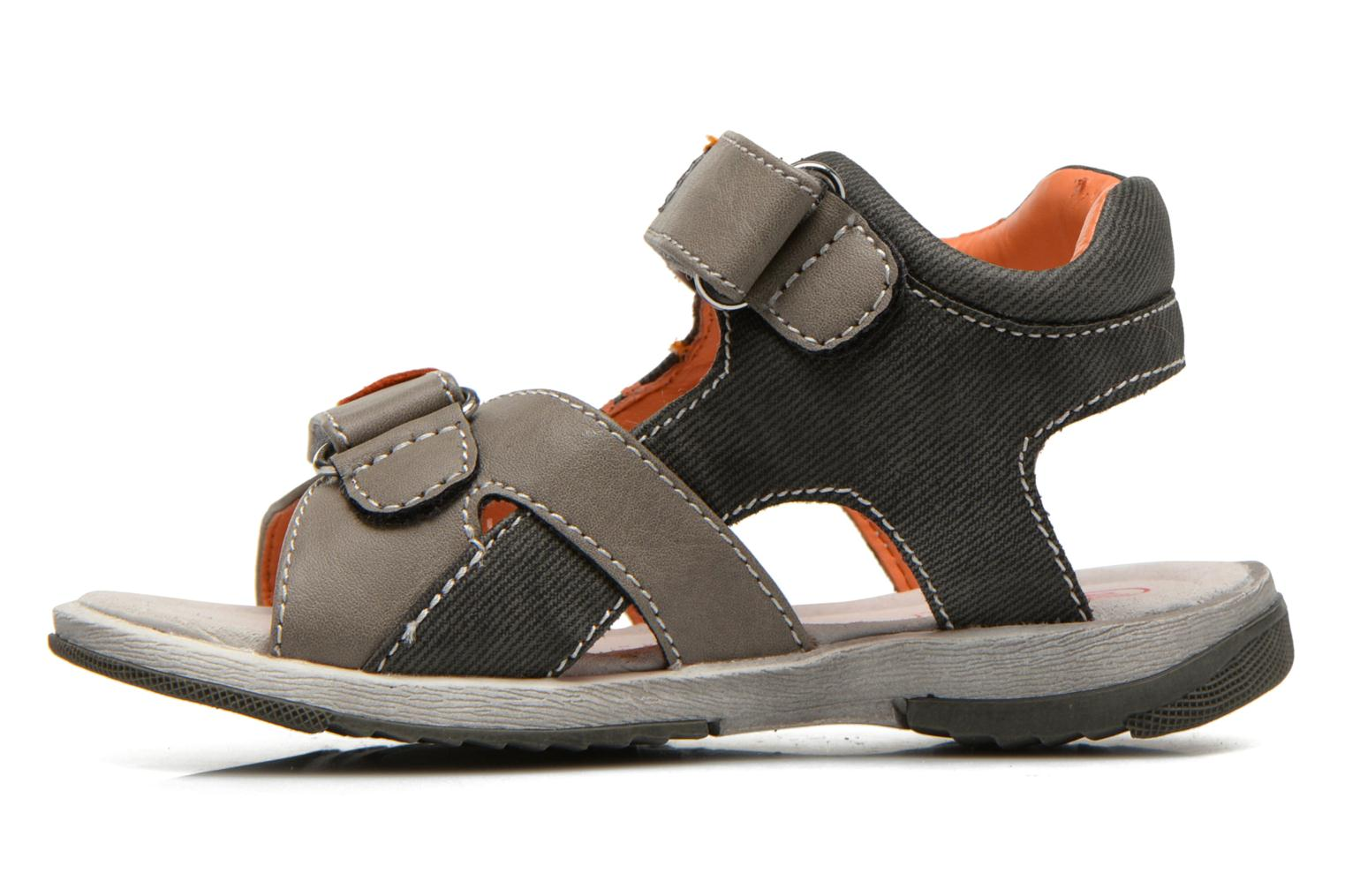 Sandals NA! Abeille Grey front view