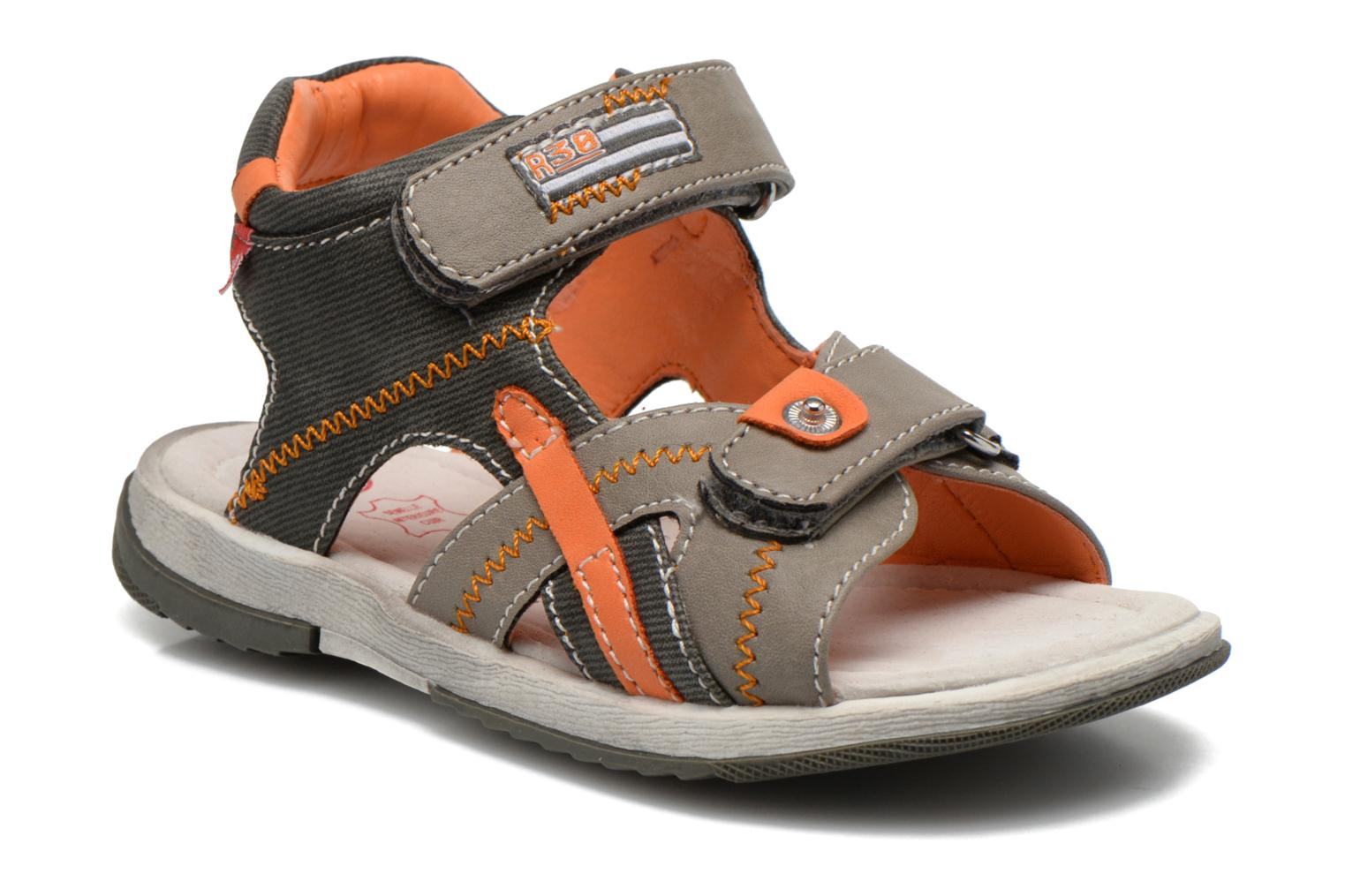 Sandals NA! Abeille Grey detailed view/ Pair view