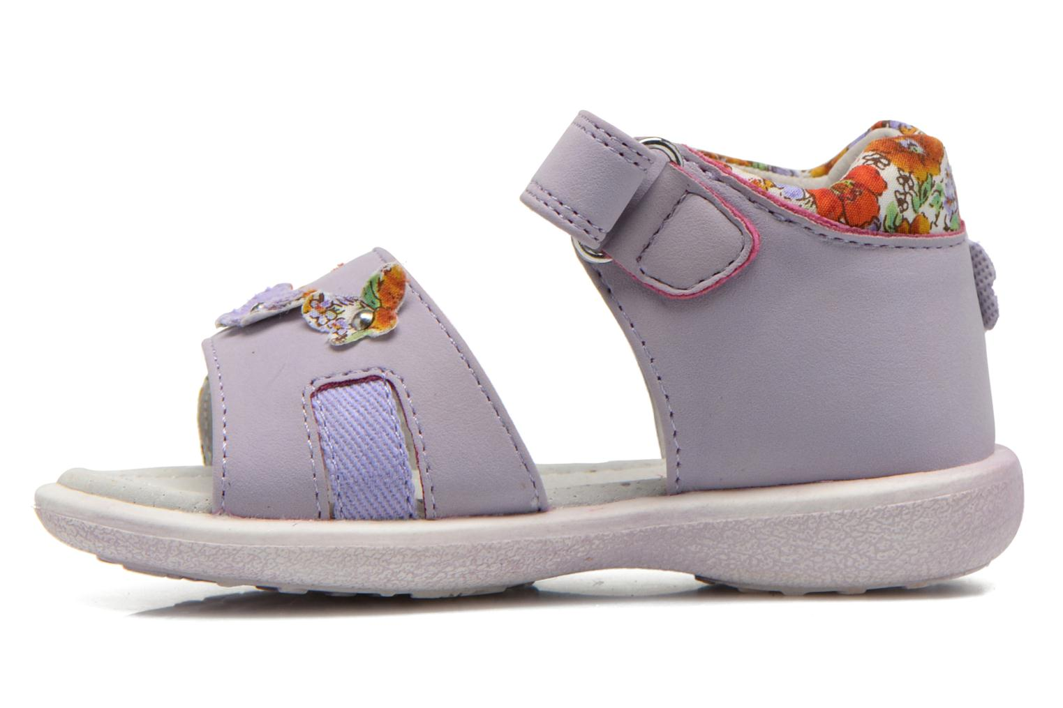 Sandals NA! Artifice Purple front view