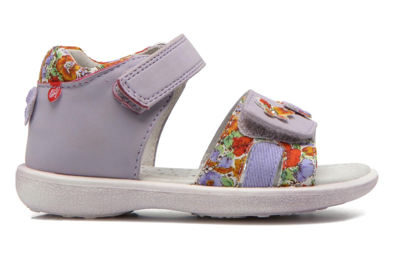 Sandals NA! Artifice Purple back view