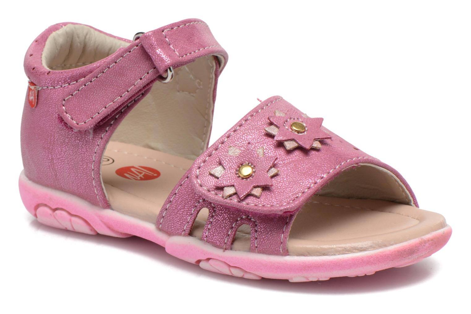 Sandals NA! Reine Pink detailed view/ Pair view