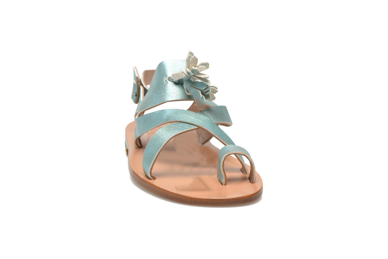 Sandales et nu-pieds PèPè Luna Bleu vue portées chaussures