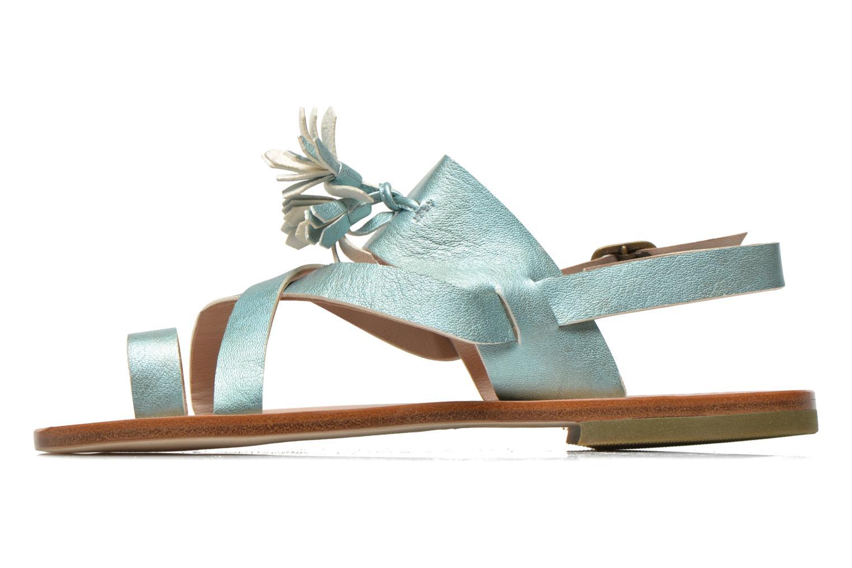 Sandales et nu-pieds PèPè Luna Bleu vue face