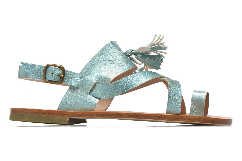 Sandales et nu-pieds PèPè Luna Bleu vue derrière