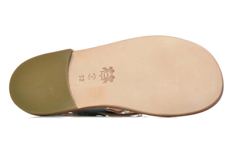 Sandales et nu-pieds PèPè Luna Bleu vue haut
