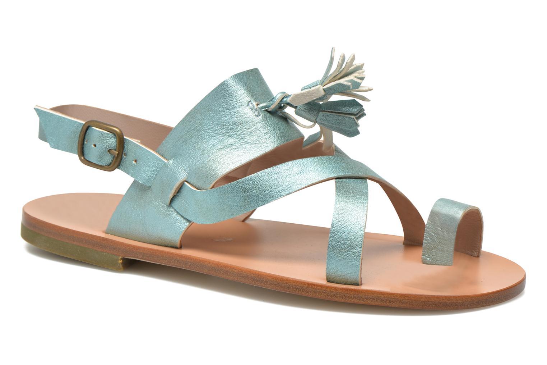 Sandales et nu-pieds PèPè Luna Bleu vue détail/paire
