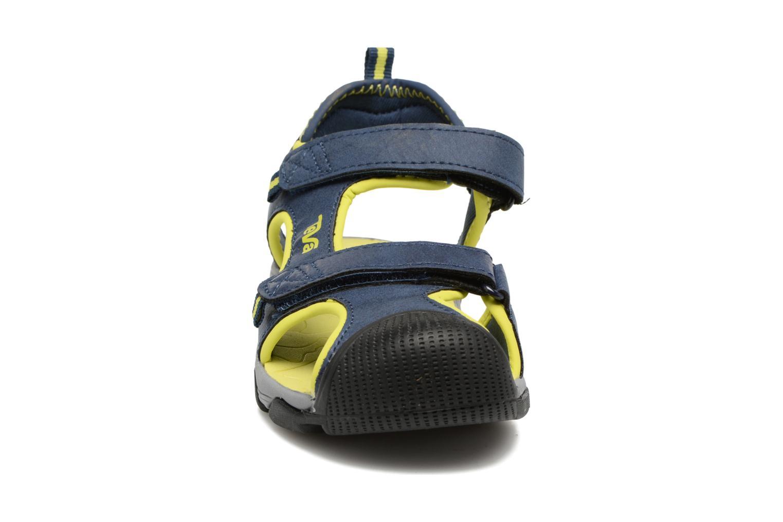 Sandales et nu-pieds Teva Toachi 4 Kids Bleu vue portées chaussures