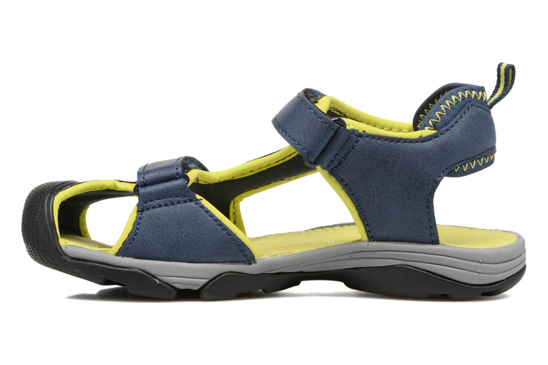 Sandales et nu-pieds Teva Toachi 4 Kids Bleu vue face
