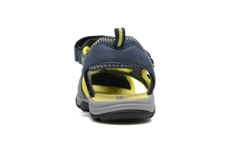 Sandales et nu-pieds Teva Toachi 4 Kids Bleu vue droite