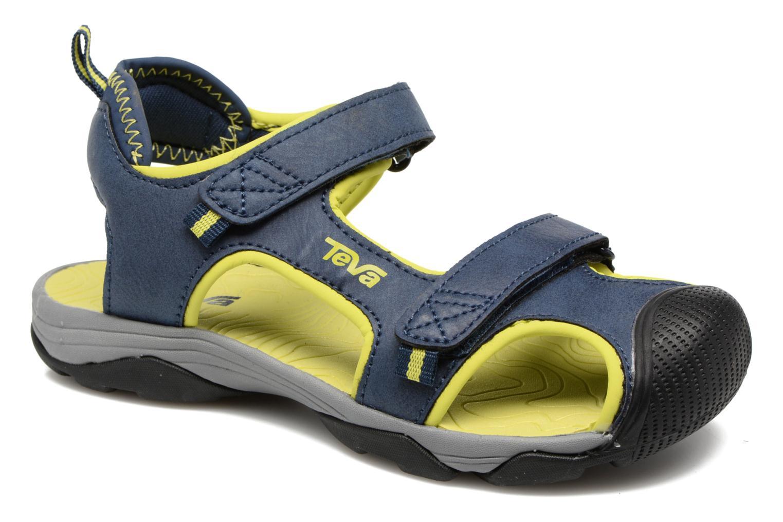 Sandales et nu-pieds Teva Toachi 4 Kids Bleu vue détail/paire