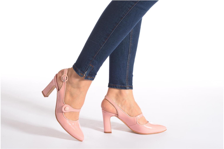 Zapatos de tacón Georgia Rose Steed Rosa vista de abajo