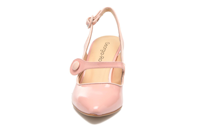 Zapatos de tacón Georgia Rose Steed Rosa vista del modelo