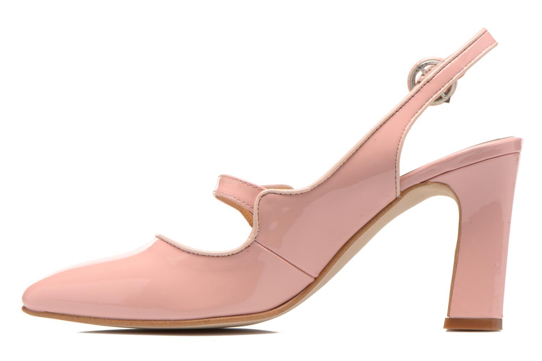 Zapatos de tacón Georgia Rose Steed Rosa vista de frente