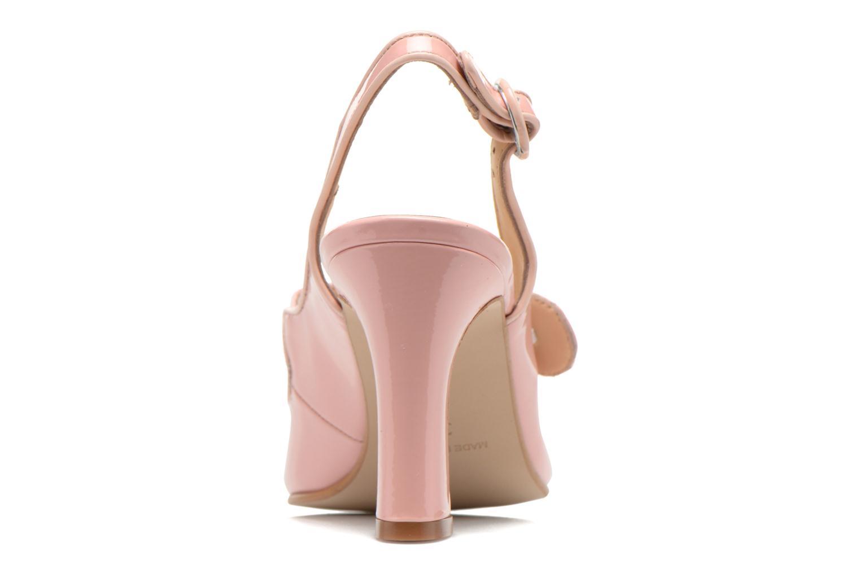 Zapatos de tacón Georgia Rose Steed Rosa vista lateral derecha