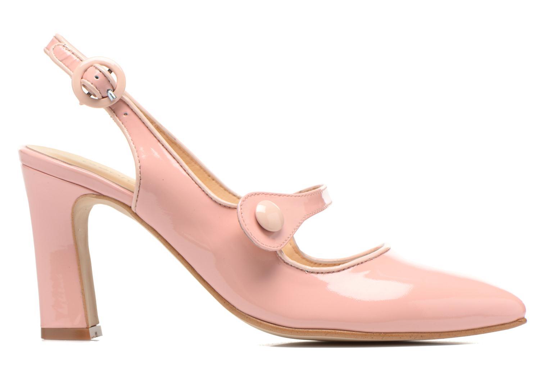 Zapatos de tacón Georgia Rose Steed Rosa vistra trasera