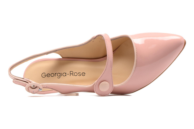 Zapatos de tacón Georgia Rose Steed Rosa vista lateral izquierda