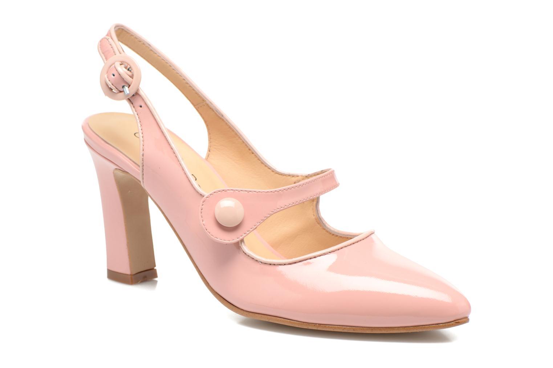 Zapatos de tacón Georgia Rose Steed Rosa vista de detalle / par