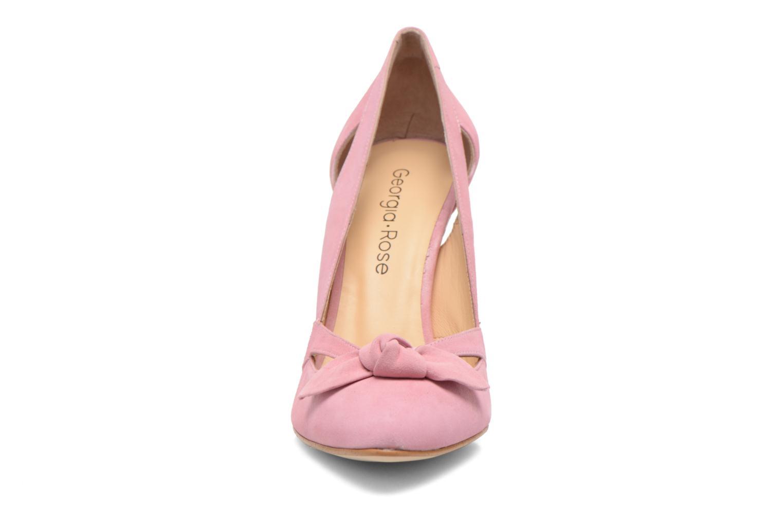 Zapatos de tacón Georgia Rose Valériane Rosa vista del modelo