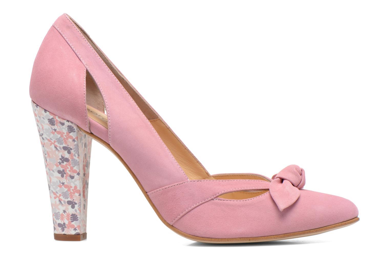 Zapatos de tacón Georgia Rose Valériane Rosa vistra trasera
