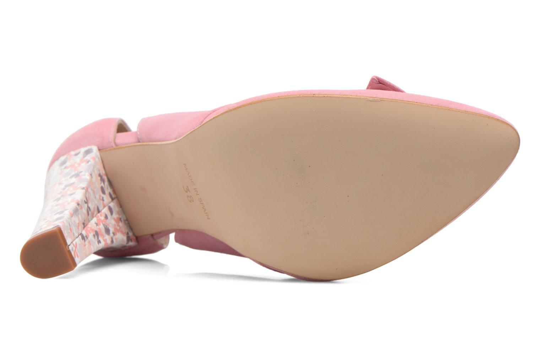 Zapatos de tacón Georgia Rose Valériane Rosa vista de arriba