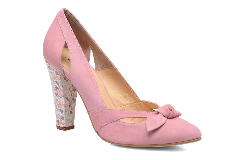 Zapatos de tacón Georgia Rose Valériane Rosa vista de detalle / par