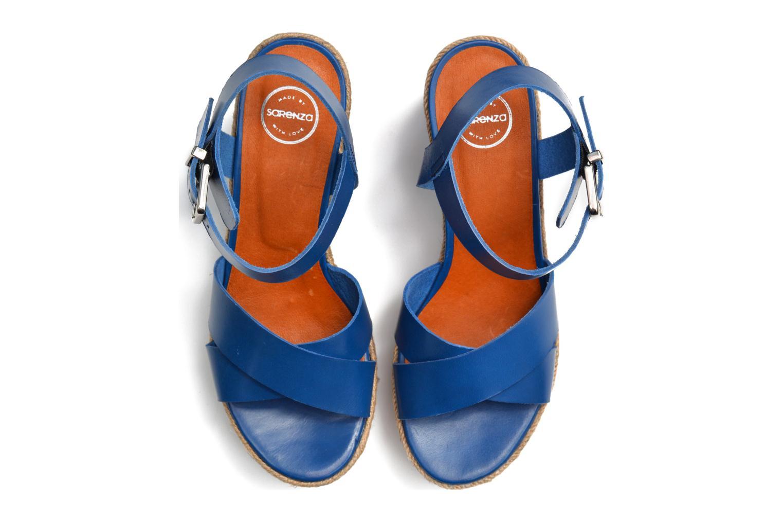 Sandales et nu-pieds Made by SARENZA Menthe Hello #20 Bleu vue 3/4