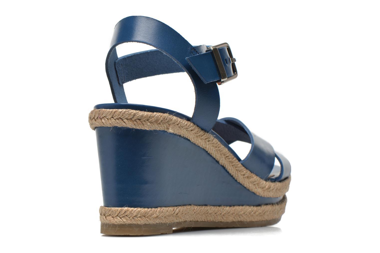Sandales et nu-pieds Made by SARENZA Menthe Hello #20 Bleu vue portées chaussures
